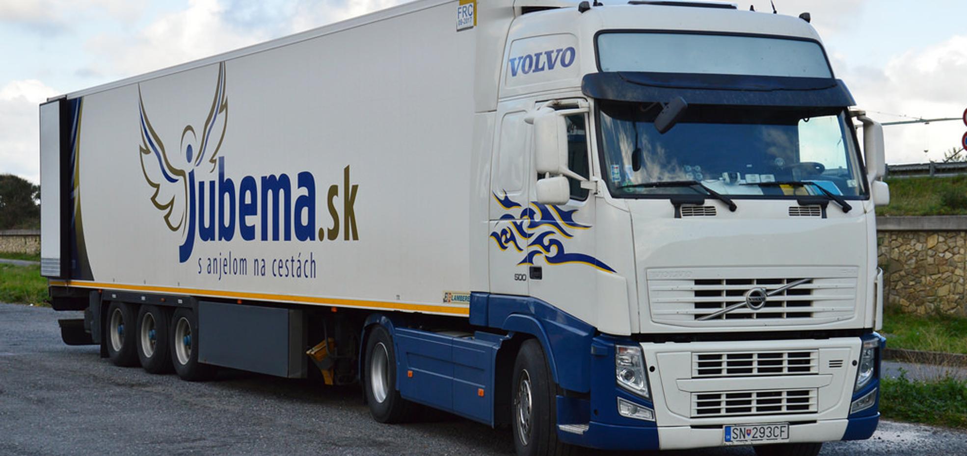 preprava tovaru JUBEMA
